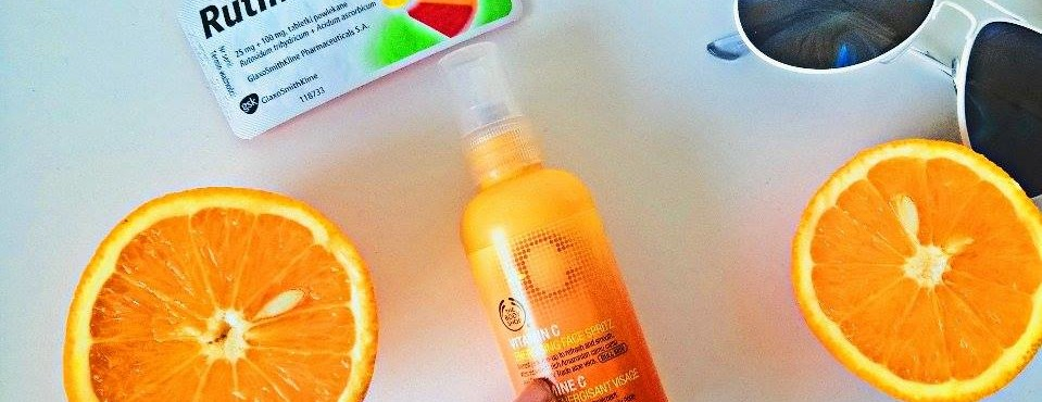 Witamina C dla skóry od The Body Shop