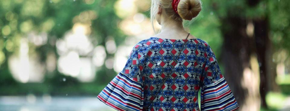 DE LA FOTTA – oryginalna sukienka