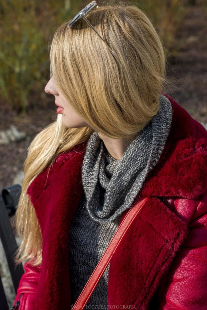 zimowa stylizacja w modnych odcieniach